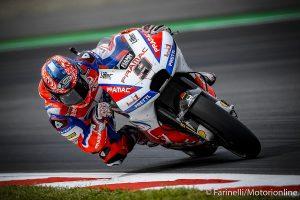 """MotoGP   Gp Misano Day 1: Petrucci, """"Sono contento, ma c'è lavoro da fare"""" [VIDEO]"""