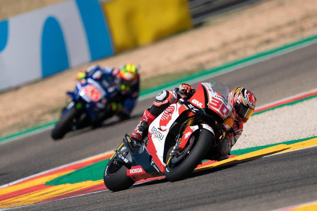 """MotoGP   GP Aragon Gara: Nakagami, """"Sapevo che sarebbe stata una gara dura in condizioni molto calde"""""""