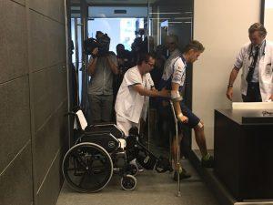 "MotoGP | Tito Rabat: ""Ho visto la gamba piegarsi come una S"""