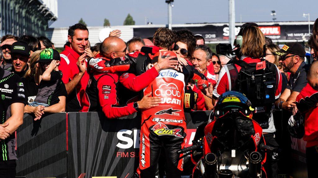 SBK | Acerbis French Round, Gara2: Davies torna sul podio