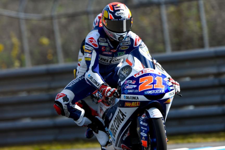 Moto3, Motegi: Foggia lotta con i primi ed è 4°
