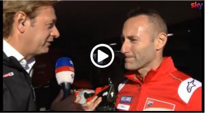 "MotoGP | Gp Australia Gara: Gabarrini (Ducati), ""Bautista sottovalutato"" [Video]"