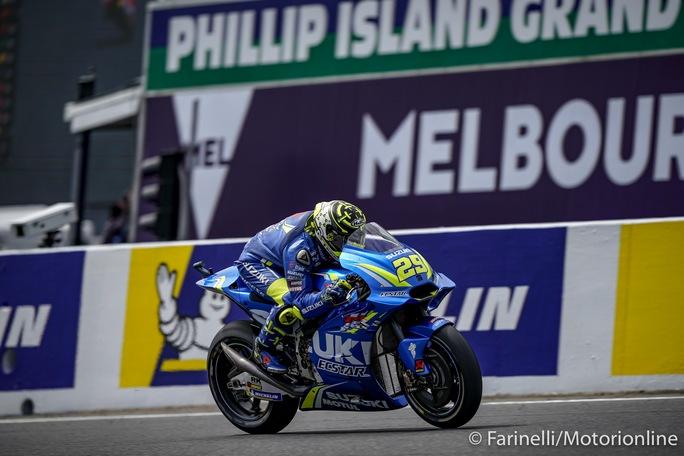MotoGP | Gp Australia FP4: Iannone è il migliore, Rossi è terzo, Dovi quarto