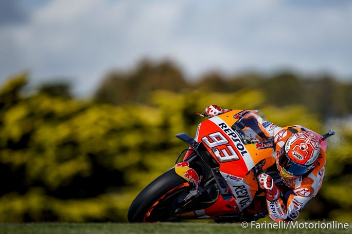 MotoGP | Gp Australia Qualifiche: Marquez in pole, Iannone è quarto