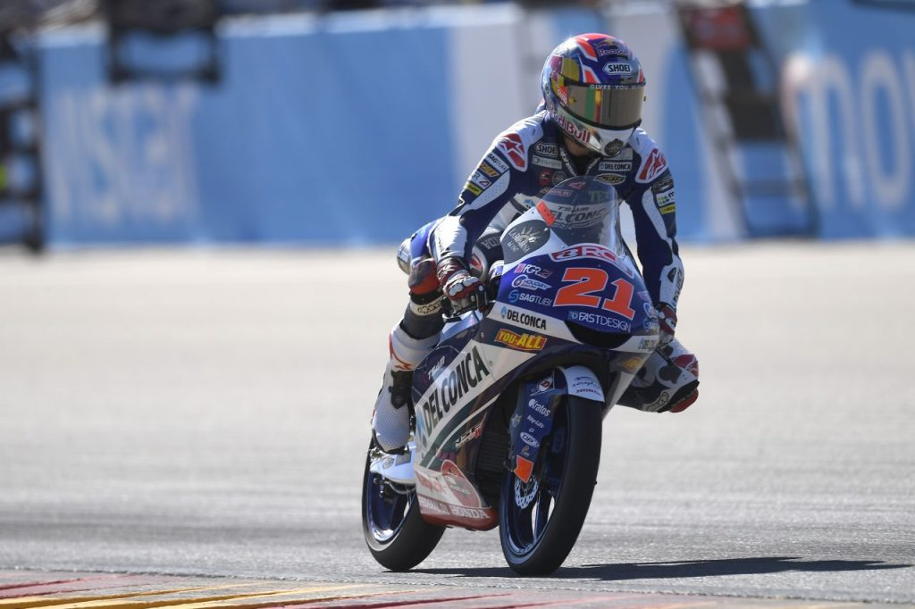 Moto3 | Gp Thailandia FP3: Di Giannantonio il più veloce, Bezzecchi decimo