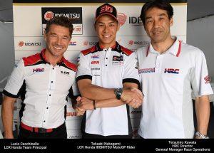 MotoGP | Takaaki Nakagami riconfermato per il 2019 in LCR