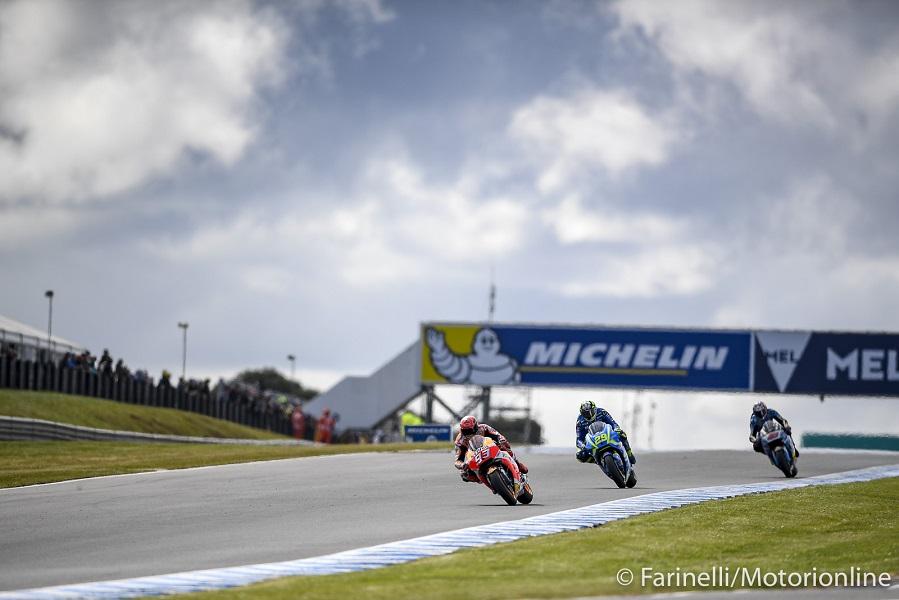 MotoGP, GP Australia: gomme speciali per la top class a Phillip Island