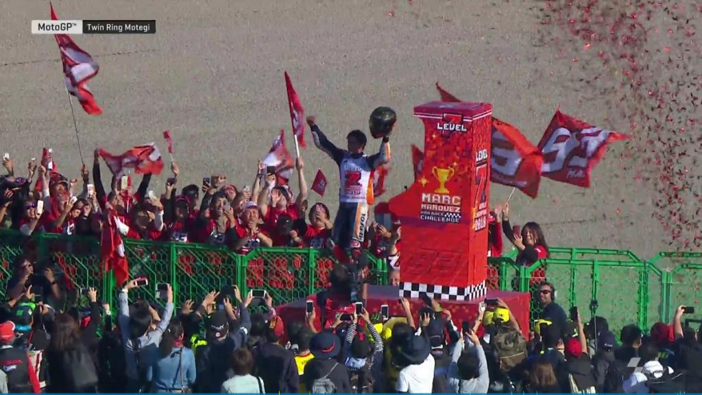 MotoGP | Gp Giappone Gara: Marquez vince e conquista il settimo mondiale