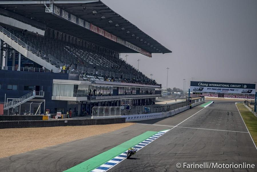 Motogp, GP di Thailandia le prove libere in diretta