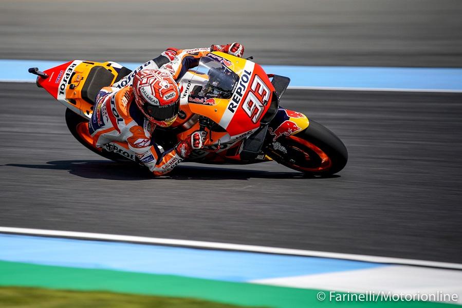 """MotoGP   Gp Thailandia Qualifiche: Marquez, """"Sono contento della pole, nonostante i problemi nelle FP3"""" [Video]"""