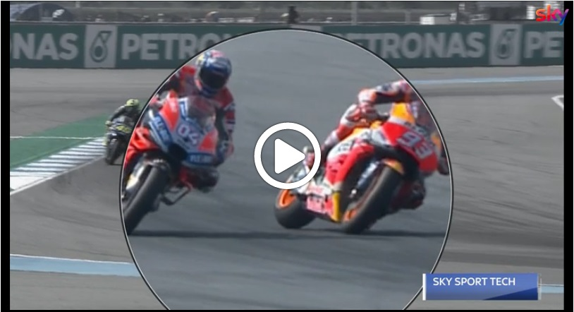 MotoGP | Gp Thailandia: Il sorpasso su 'una ruota' di Marquez su Dovizioso, l'analisi di Sanchini [Video]