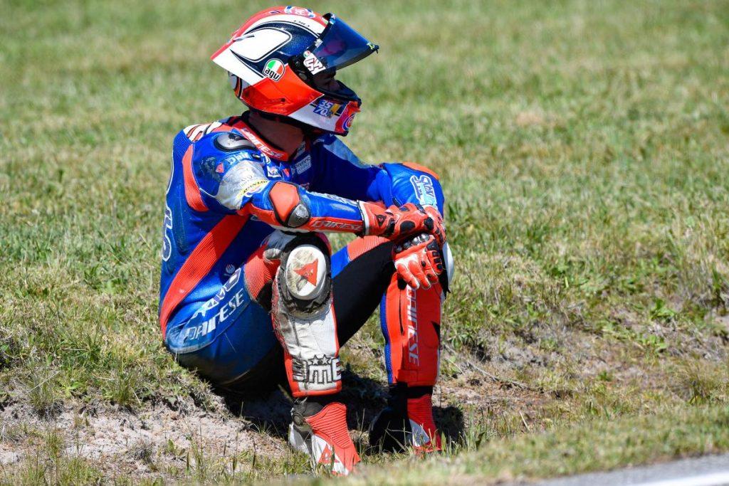 """Moto2   GP Australia Gara: Pasini, """"Errore frutto della poca serenità di questo periodo"""""""
