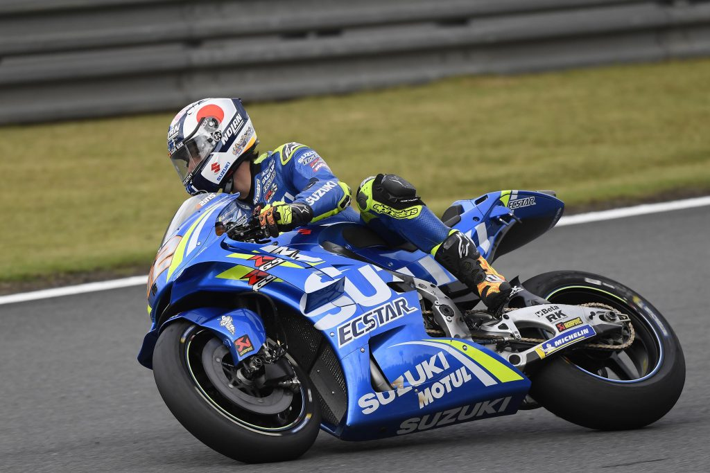 """MotoGP   GP Giappone Day 1: Rins, """"Sensazioni buone, ma questo tempo non mi piace"""""""