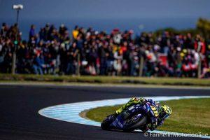 "MotoGP   Gp Australia Gara: Valentino Rossi, ""Oggi la moto spinnava, non avevo grip"" [Video]"