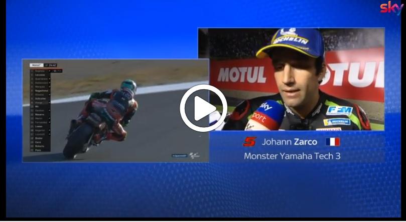 """MotoGP   GP Giappone, Zarco soddisfatto: """"Dovizioso e Marquez più veloci, ma ho chance in gara"""" [VIDEO]"""