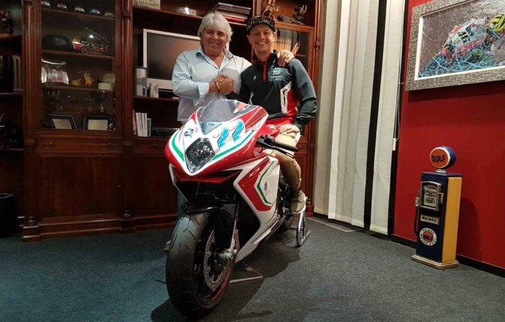 Moto2 | MV Agusta Forward Racing Team ingaggia Aegerter per il 2019