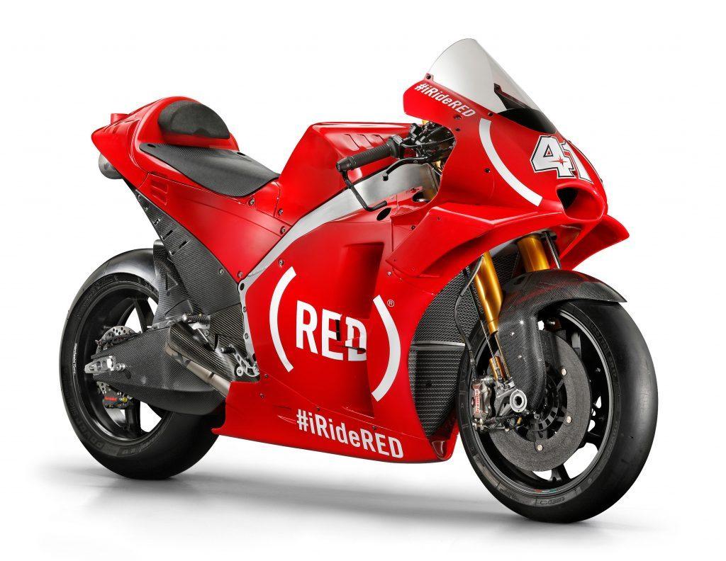 MotoGP | Aprilia Gresini a Valencia con una livrea completamente rossa