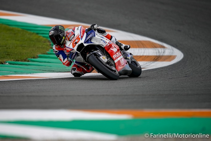 "MotoGP   Valencia Test Day 2: Bagnaia, ""Grande feeling con la Ducati"""
