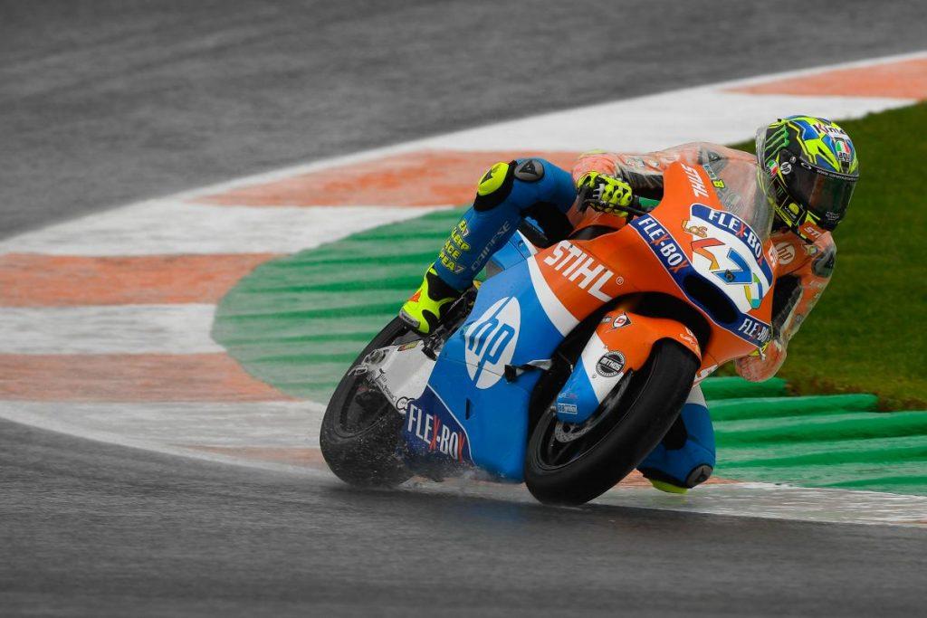 """Moto2   Gp Valencia Qualifiche: Baldassarri, """"Siamo molto motivati"""""""