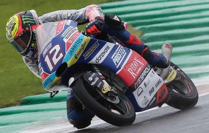 Moto3 | Gp Valencia Warm Up: Bezzecchi guida la pattuglia italiana