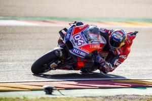 """MotoGP   Gp Valencia Qualifiche: Dovizioso, """"Prima fila molto importante"""""""