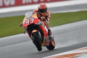 """MotoGP   Gp Valencia Day 1: Marquez, """"Siamo veloci e sentivo il limite"""""""