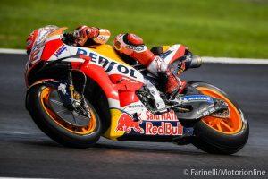 MotoGP | Gp Malesia Qualifiche: Marquez in pole sul bagnato, Rossi in prima fila