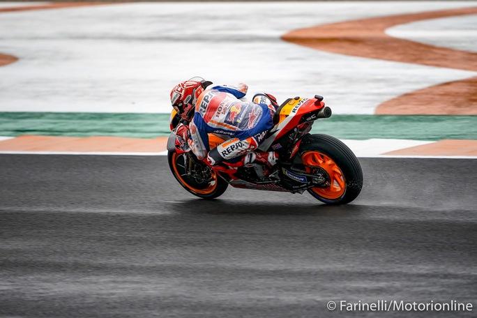 MotoGP | Gp Valencia Warm Up: Marquez il migliore, risorge Rossi