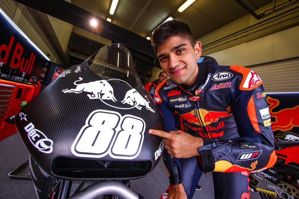 Moto2 | Martin KO: frattura alla gamba destra