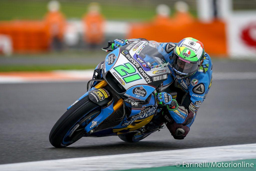 """MotoGP   GP Valencia Gara: Morbidelli, """"Felice per il titolo di miglior rookie"""""""