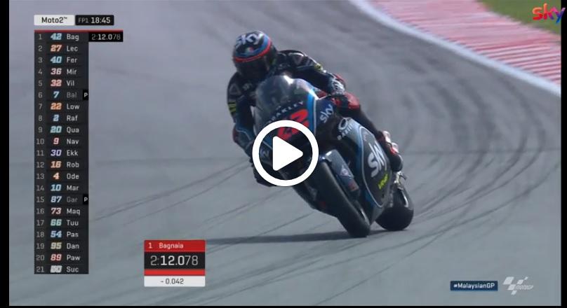 Moto2 | GP Malesia, A. Marquez domina le libere del venerdì: gli highlights delle sessioni [VIDEO]