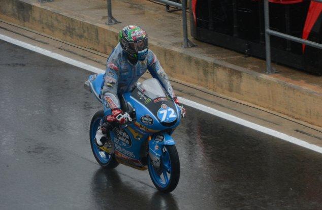 Moto3 | Gp Valencia FP2: Lopez svetta sul bagnato, Bezzecchi 2°