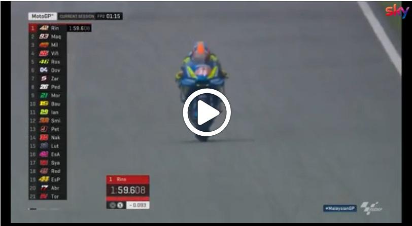 MotoGP | Gp Malesia: gli highlights della prima giornata di libere [Video]