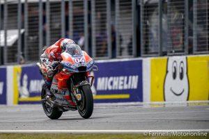 MotoGP | Gp Malesia FP1: Dovizioso detta il passo, Rossi in scia