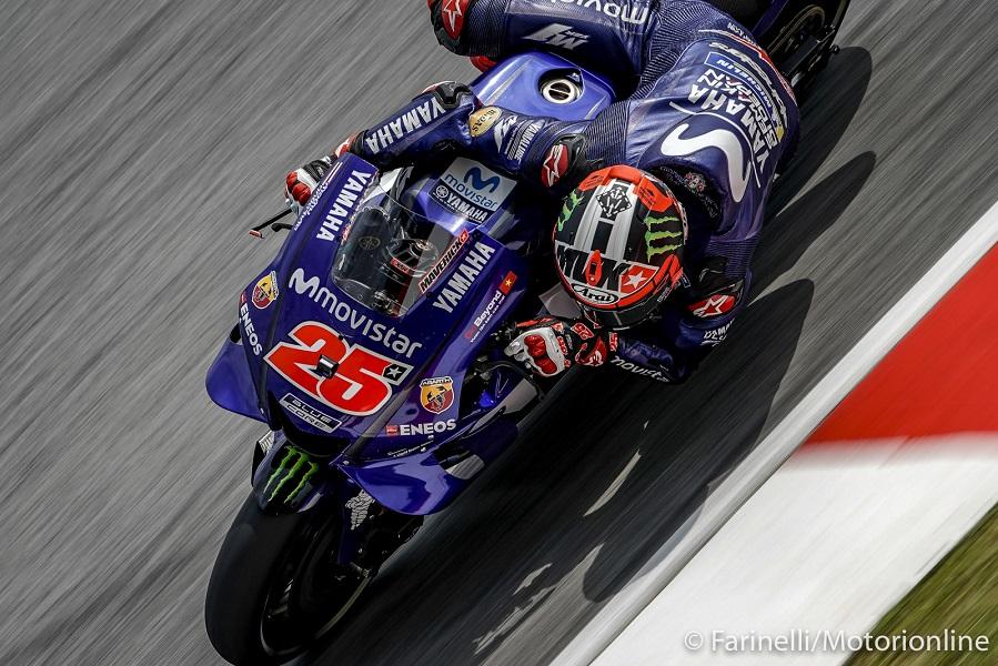 MotoGP   Gp Malesia FP3: Vinales svetta davanti a Marquez, Rossi nono