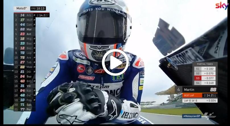 Moto3 | GP Malesia, Arbolino chiude al comando il venerdì: gli highlights delle prove libere [VIDEO]
