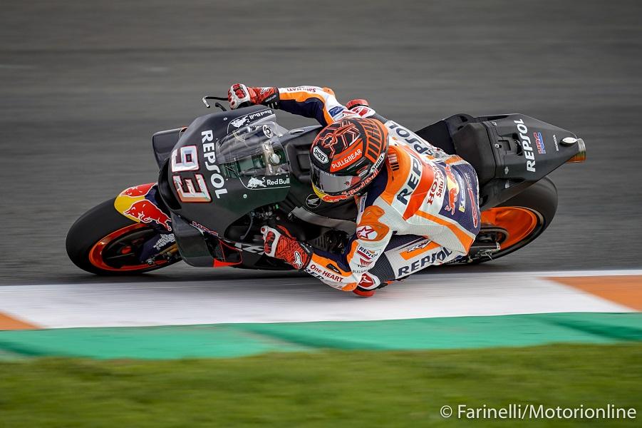 MotoGP | Test Valencia Day 2 Mattina: alle 13.30 Marquez il più veloce