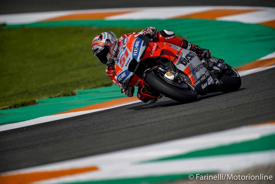 """MotoGP   Valencia Test Day 2 : Pirro, """"Il problema alla spalla non mi ha consentito di lavorare"""""""