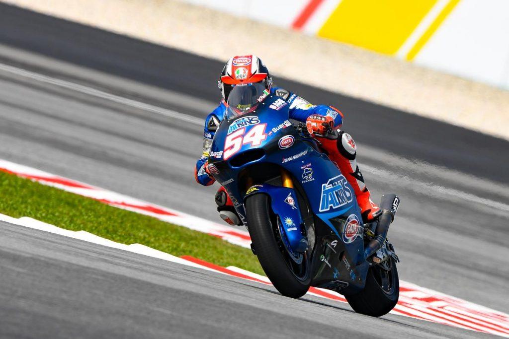 """Moto2   Gp Malesia Gara: Pasini, """"Sono abbastanza soddisfatto"""""""