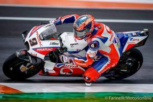 MotoGP | Gp Valencia FP3: Petrucci imprendibile sul bagnato, Rossi fuori dai 10
