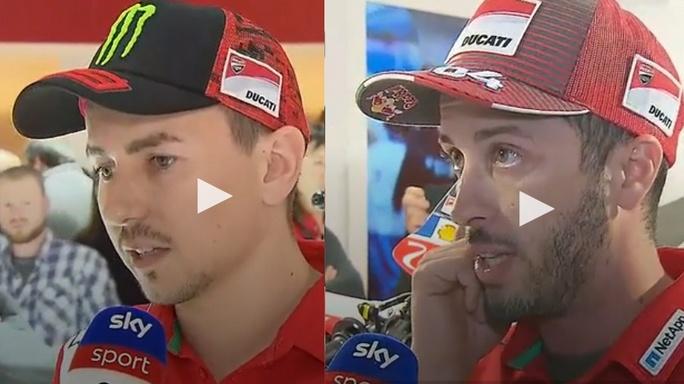 MotoGP | Lorenzo Vs Dovizioso, nuovo botta e risposta all'Eicma di Milano