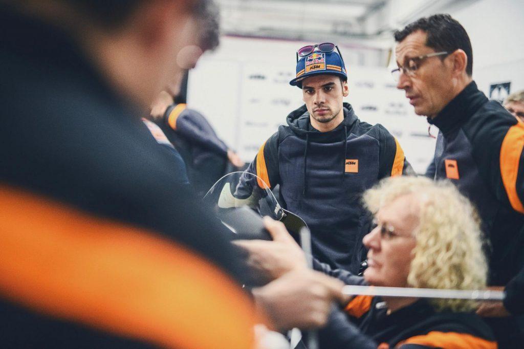 """MotoGP   Valencia Test Day 1: Oliveira, """"Contento di quello che siamo riusciti a fare"""""""