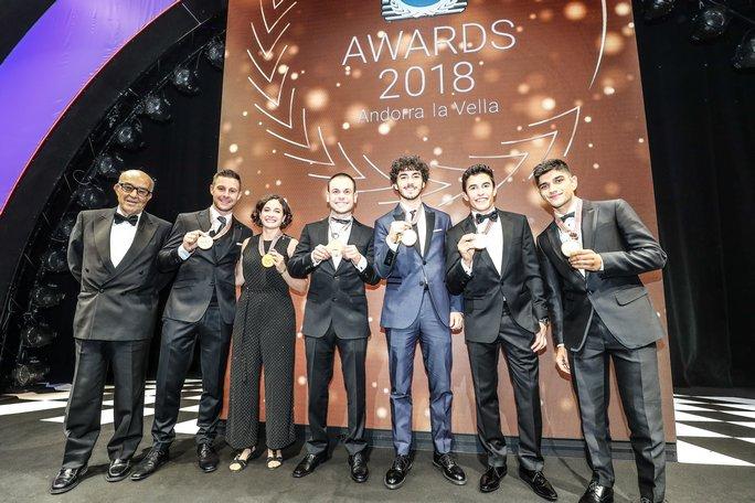 Gala FIM MotoGP | Premiati Jorge Martin, Francesco Bagnaia e Marc Marquez