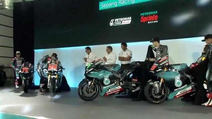 MotoGP | Live streaming presentazione Team Petronas Yamaha SRT di Morbidelli e Quartararo