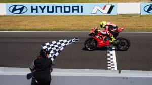 Superbike   Phillip Island, Tissot Superpole Race: Bautista concede il bis