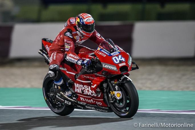 """MotoGP   Test Qatar Day 3: Dovizioso, """"Non sono del tutto soddisfatto"""""""