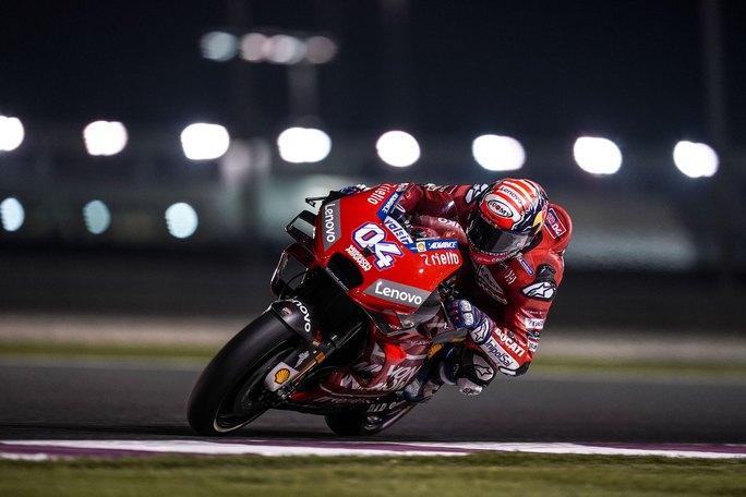 "MotoGP | Test Qatar Day 1: Dovizioso, ""Ho un buon feeling"""