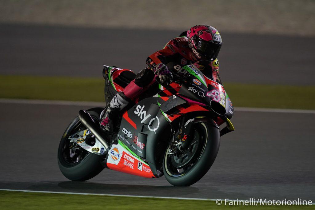 """MotoGP   Test Qatar Day 3: A.Espargarò, """"Oggi avevamo in programma una vera simulazione di gara"""""""