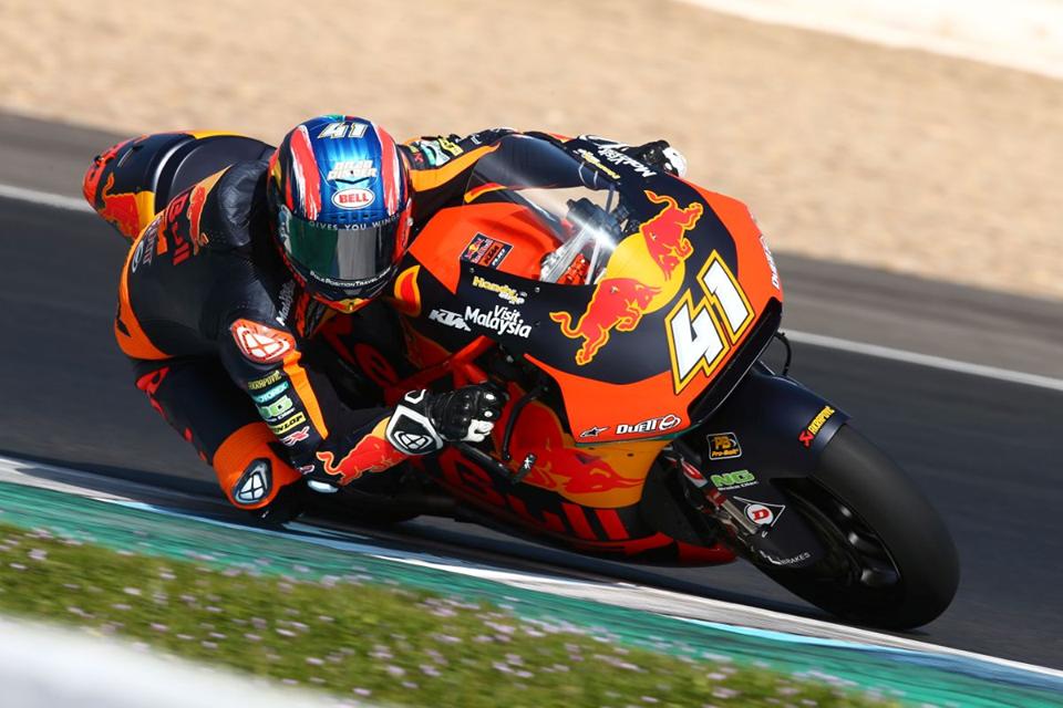 Moto2 | Test Jerez Day 3 mattina: Lowes e Binder si alternano al comando