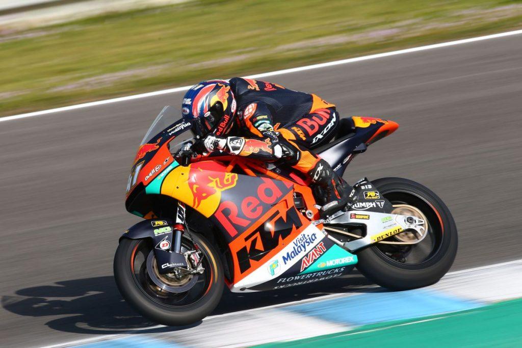 Moto2   Test Jerez Day 2: Binder il più veloce del terzo turno, Marquez il migliore della giornata